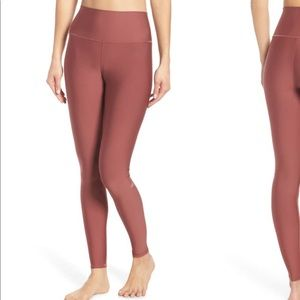 ALO YOGA AIRLIFT LEGGINGS COLOR:EARTH IN XS